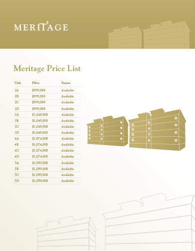 Meritage Brochure